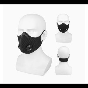 NEW Sport mask with exhalation valves